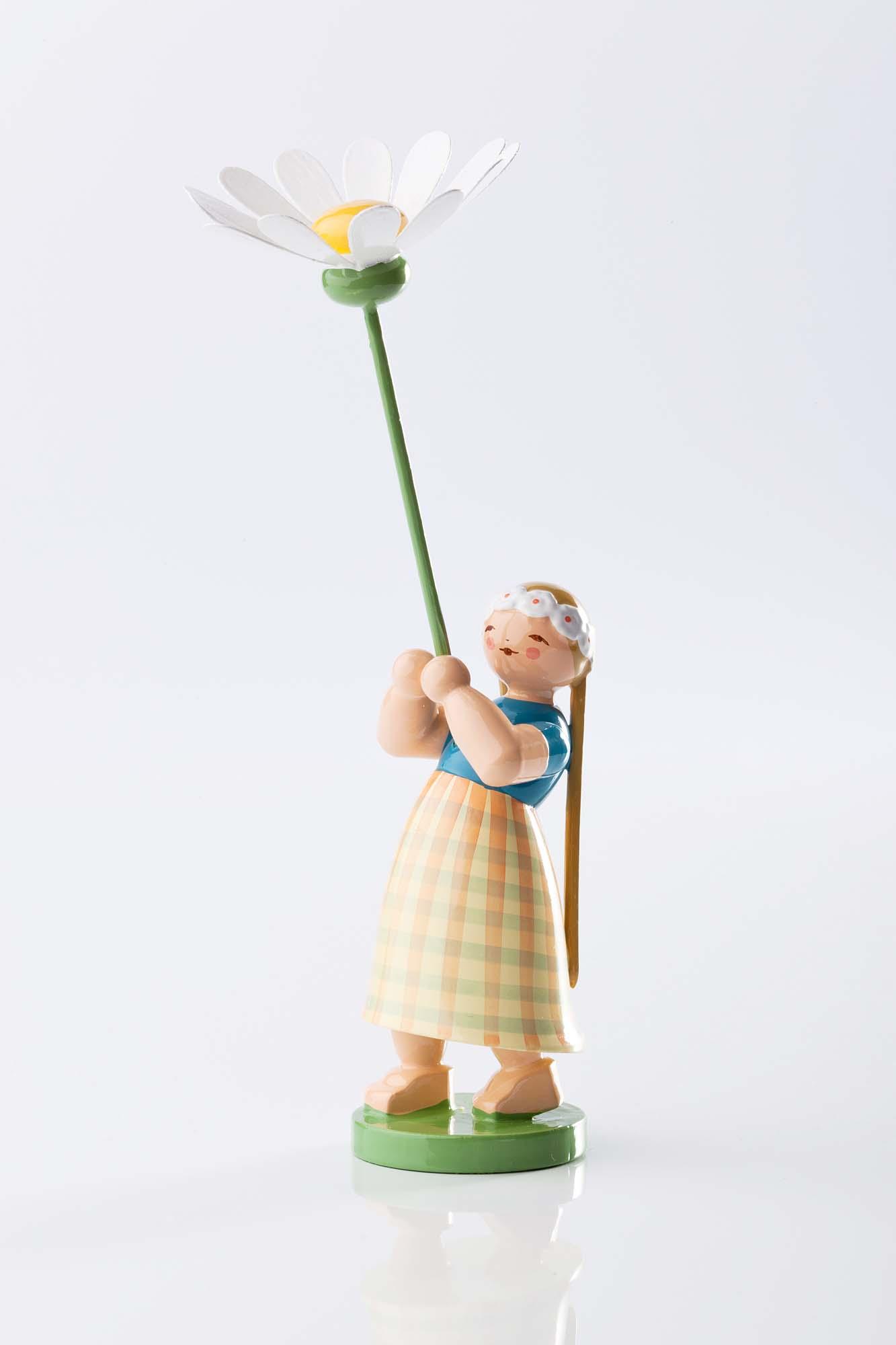Blumenkind Mädchen mit Margerite 5248/1