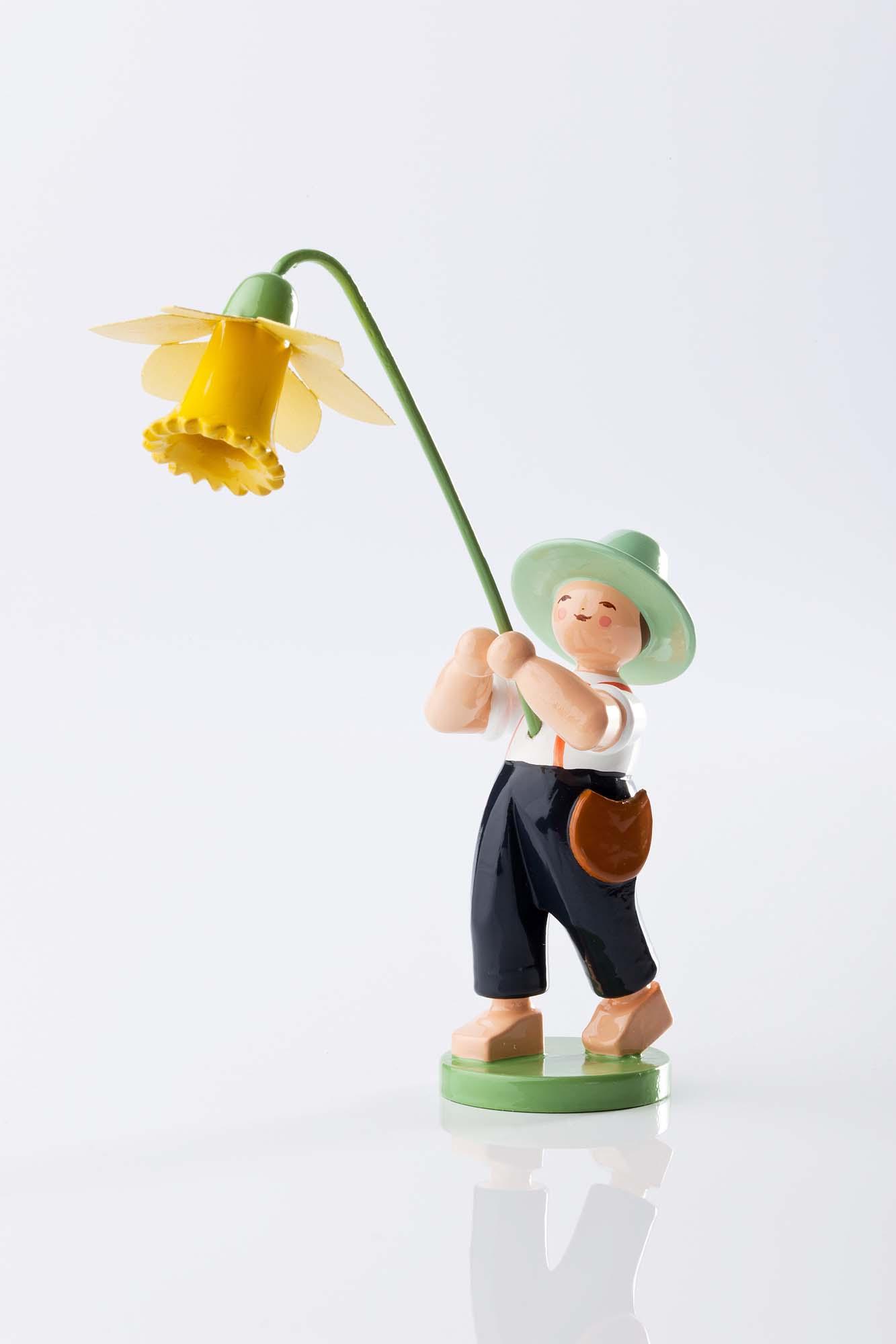Blumenkind Junge mit Narzisse 5248/13