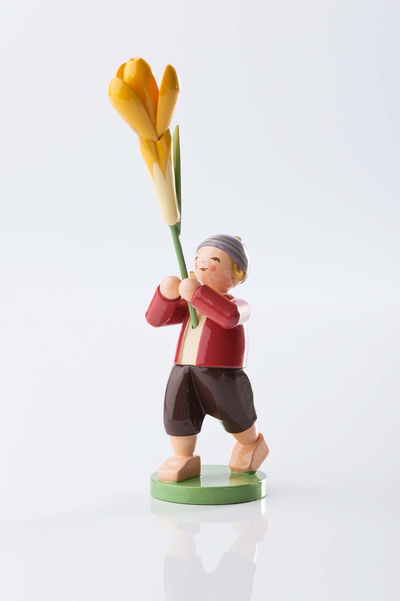 Blumenkind Junge mit Krokus 5248/20