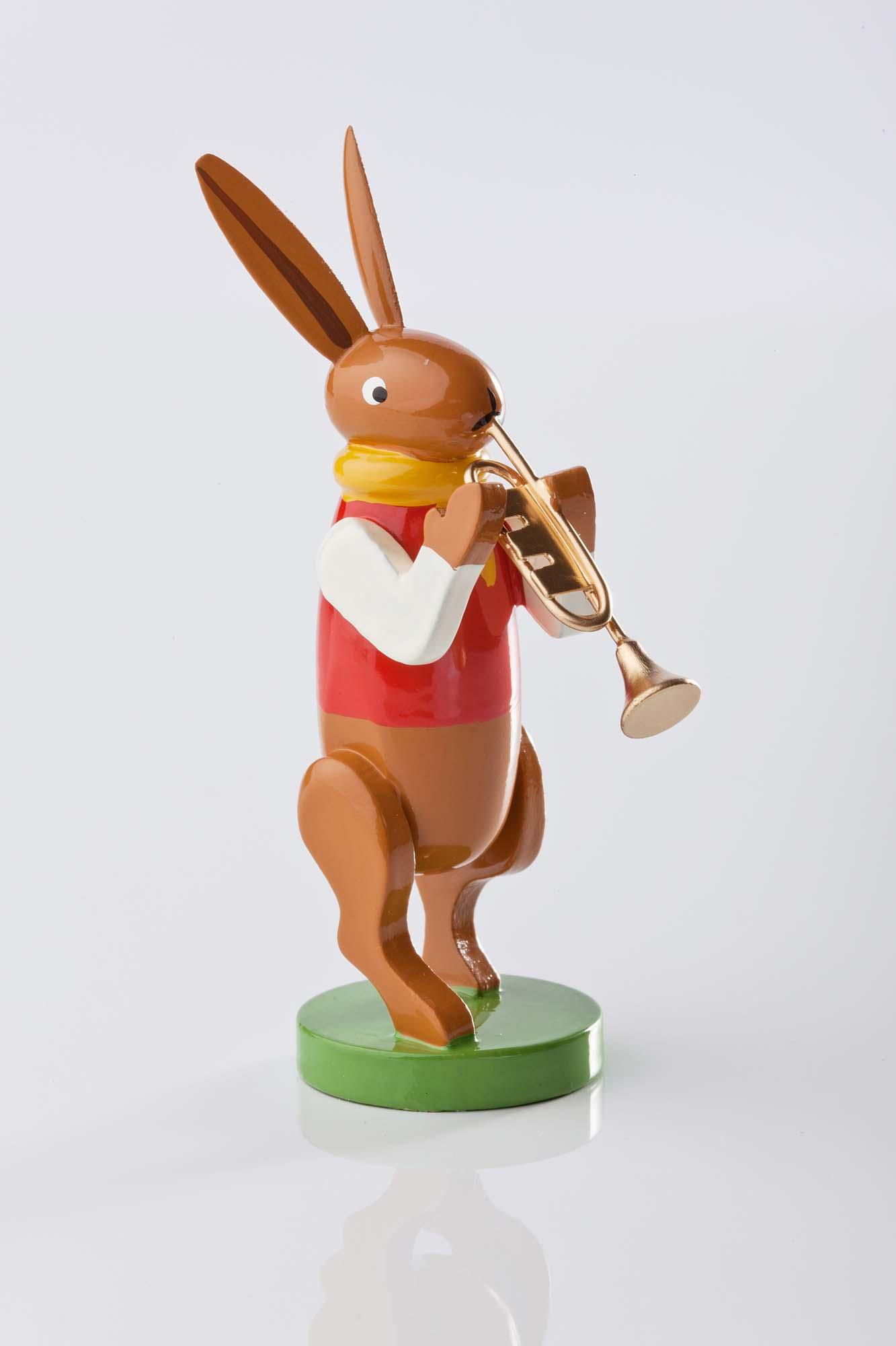Hasenmusikanten mit Trompete 5350/36
