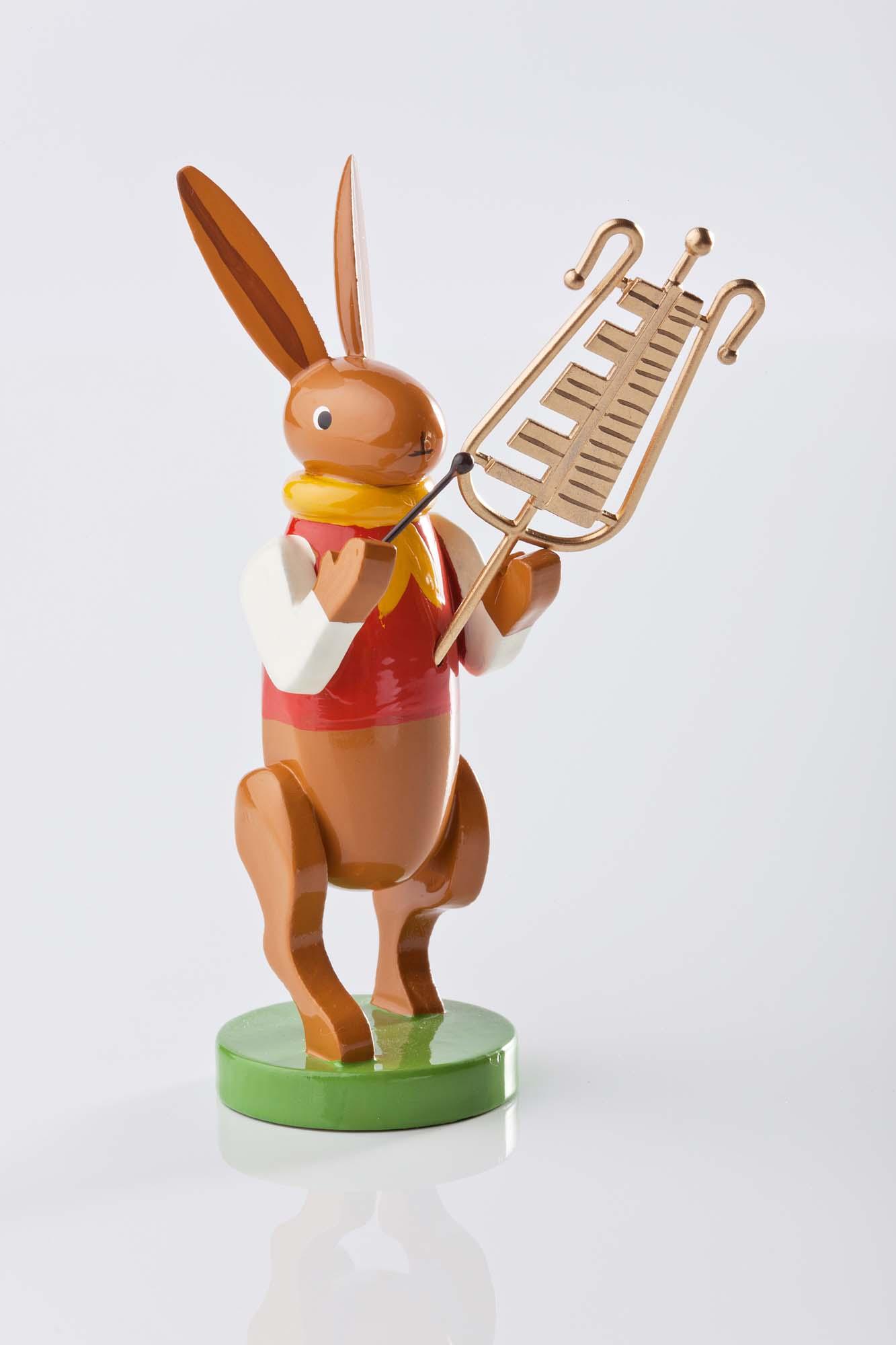 Hasenmusikanten mit Glockenspiel 5350/58