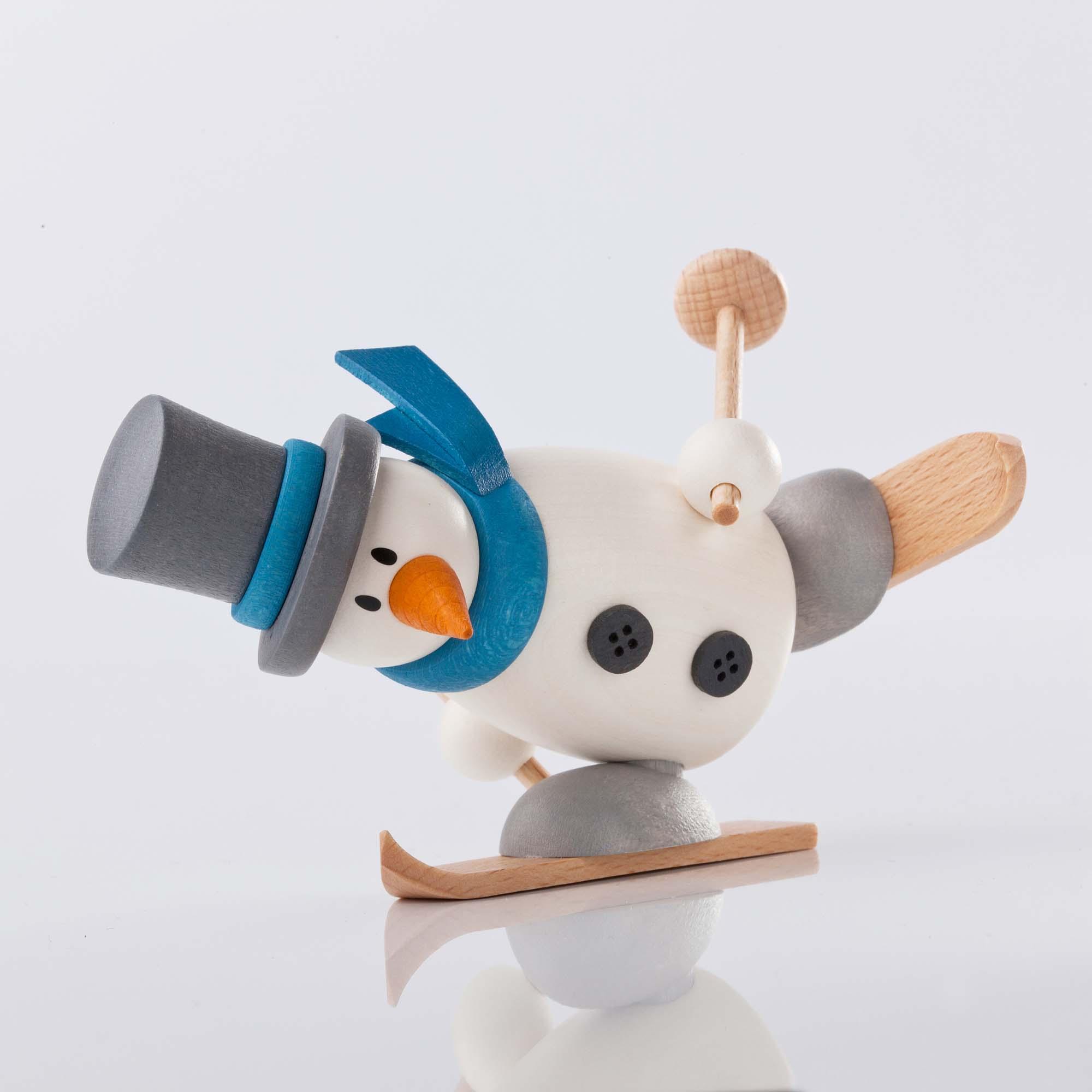 Fritz mit Ski