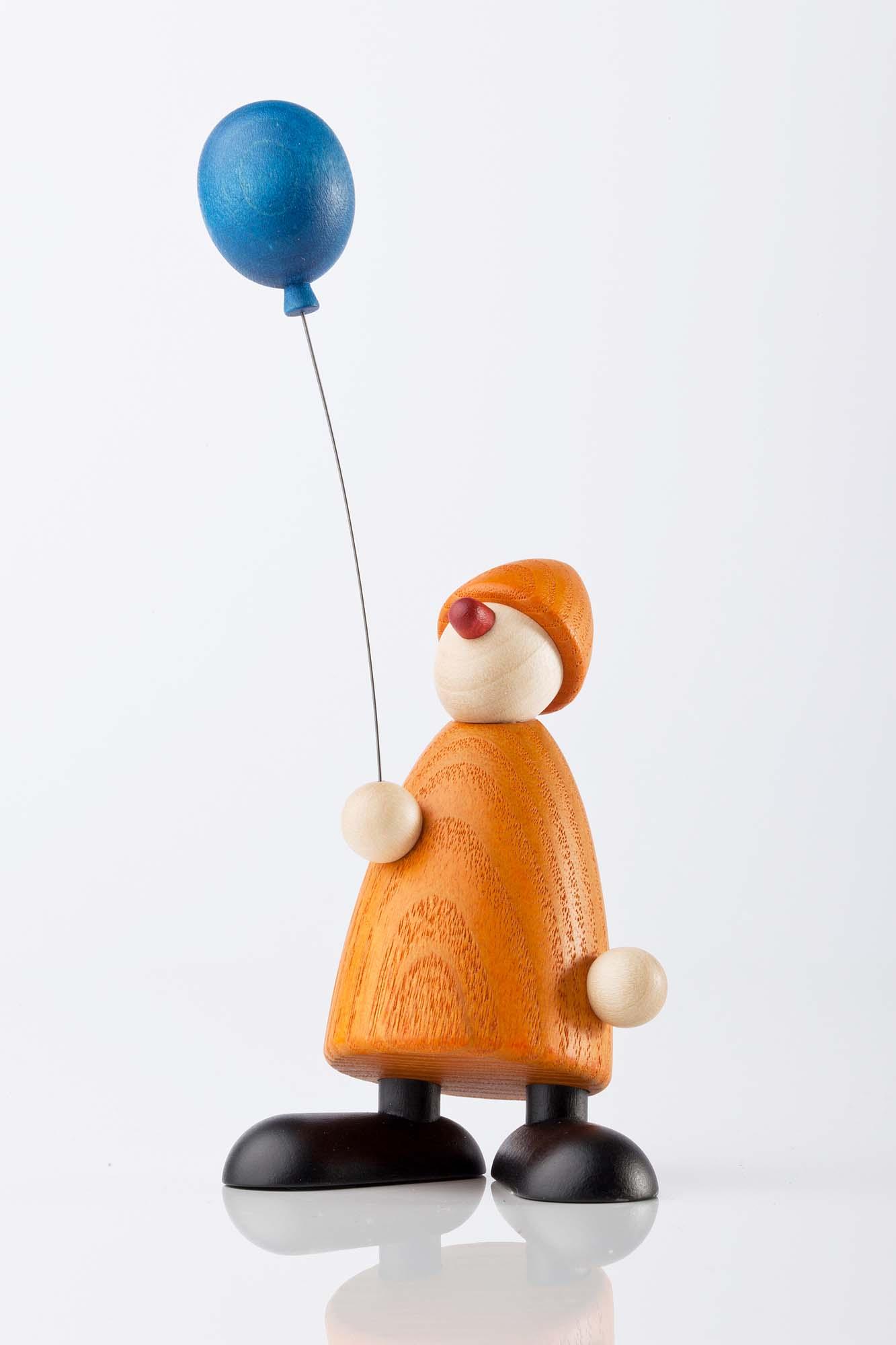 Gratulant Linus mit blauem Luftballon 5011